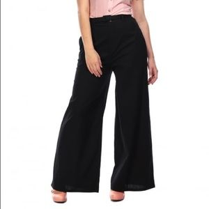 Collectif Vicky Plain Trousers uk 6 US XXS